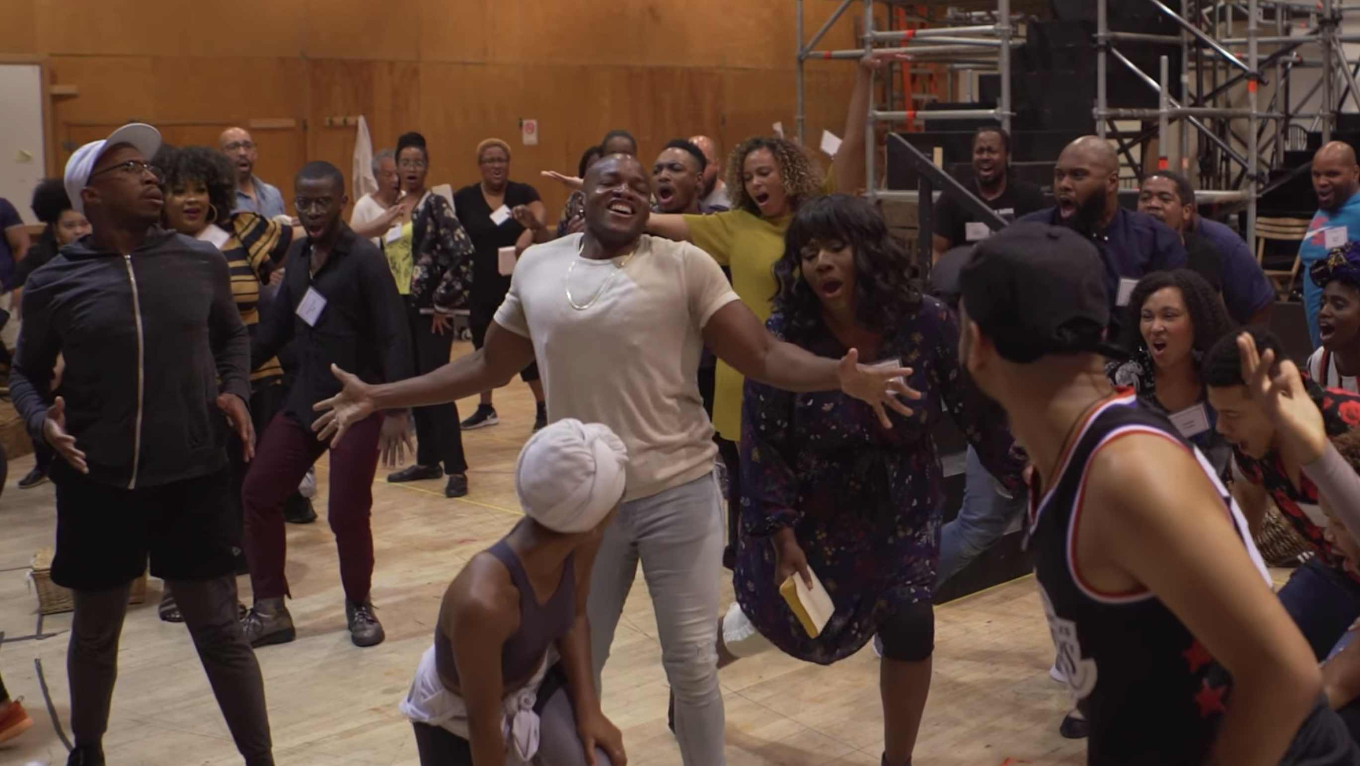 Watch the Cast of the Metropolitan Opera's Porgy and Bess in Rehearsals