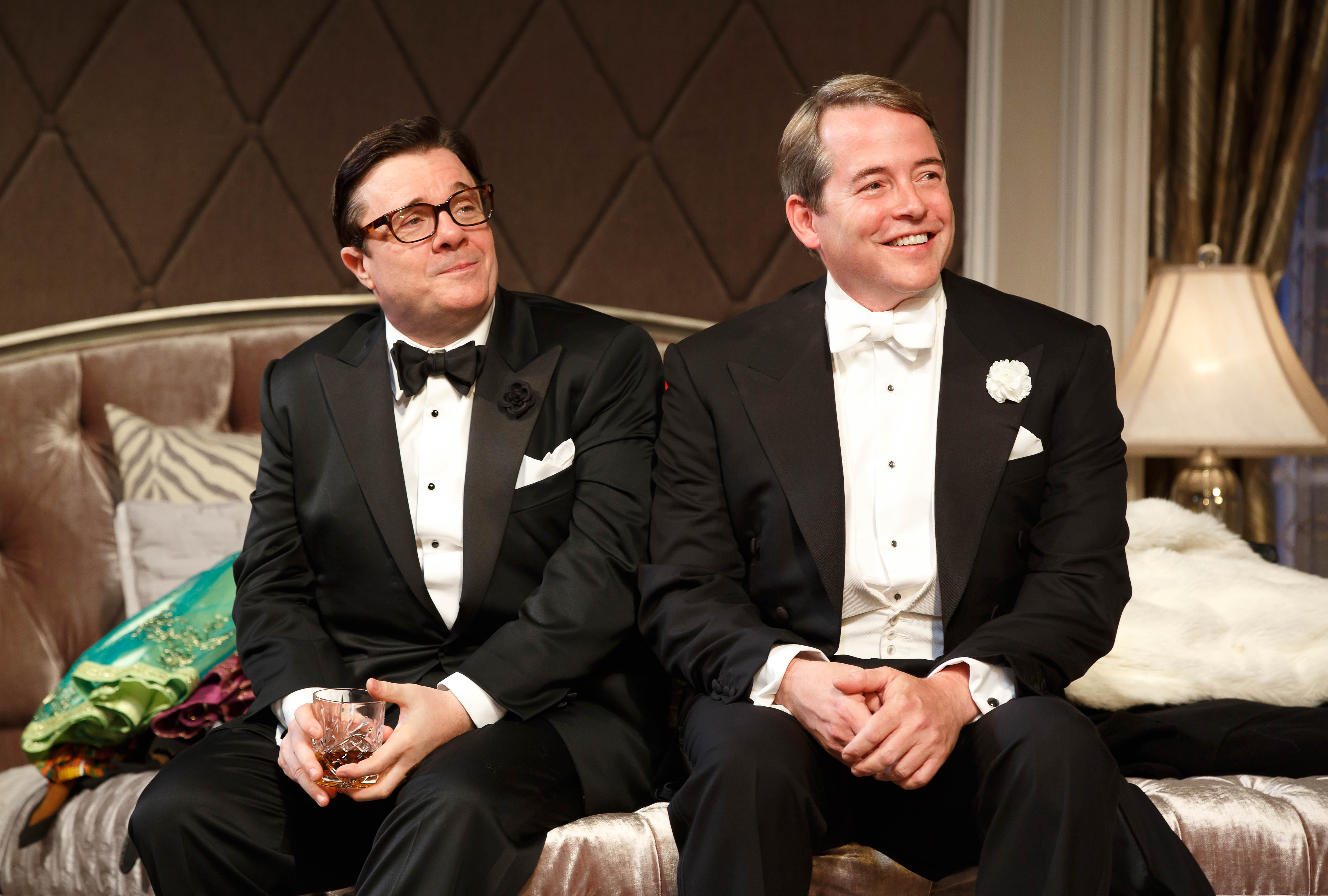 Looking Back at Playbill's 2014 Interview With Nathan Lane and Matthew Broderick for It's Only a Play