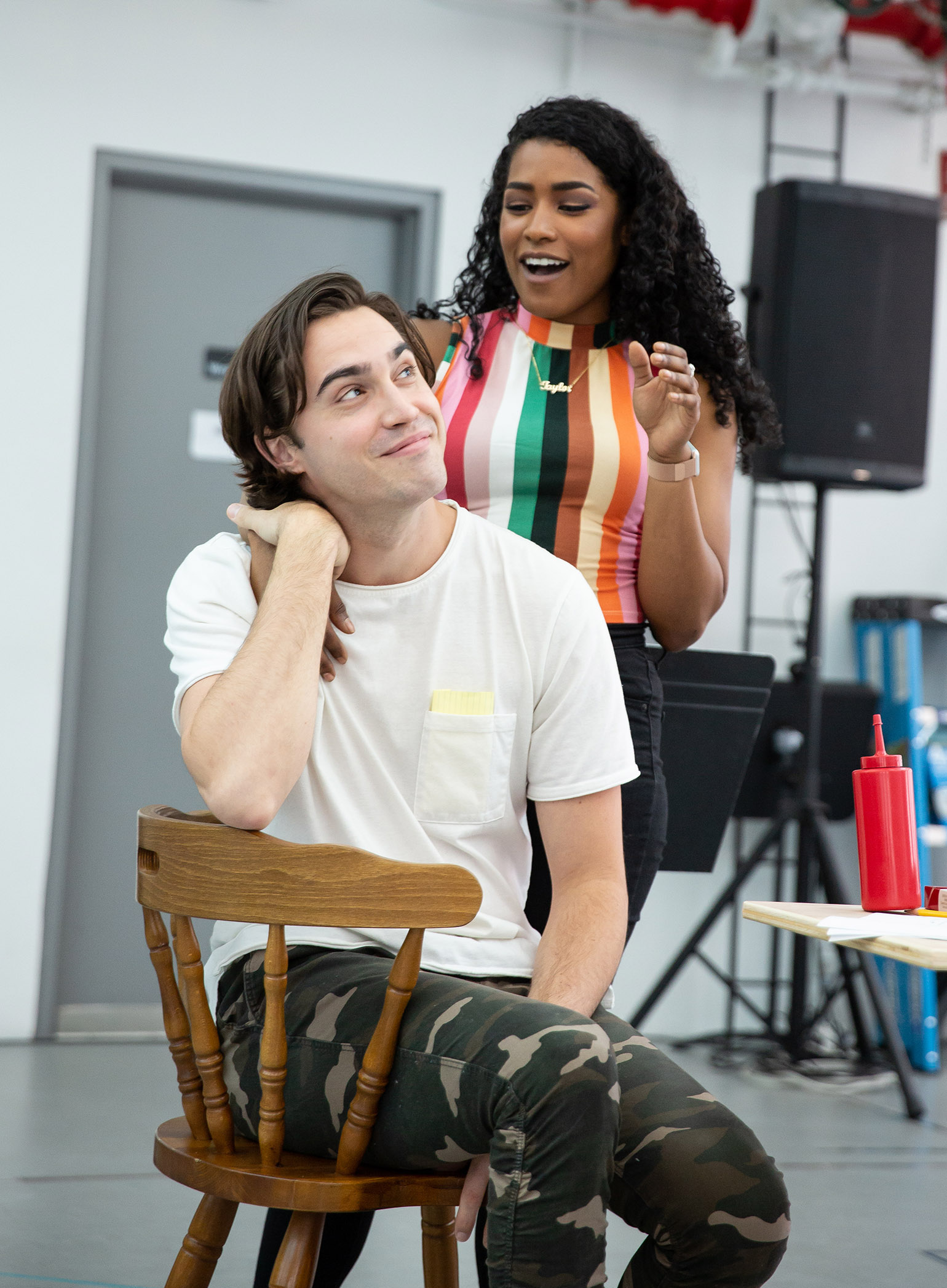Alysha Umphress Wiki a look inside rehearsals for roundabout's new musical
