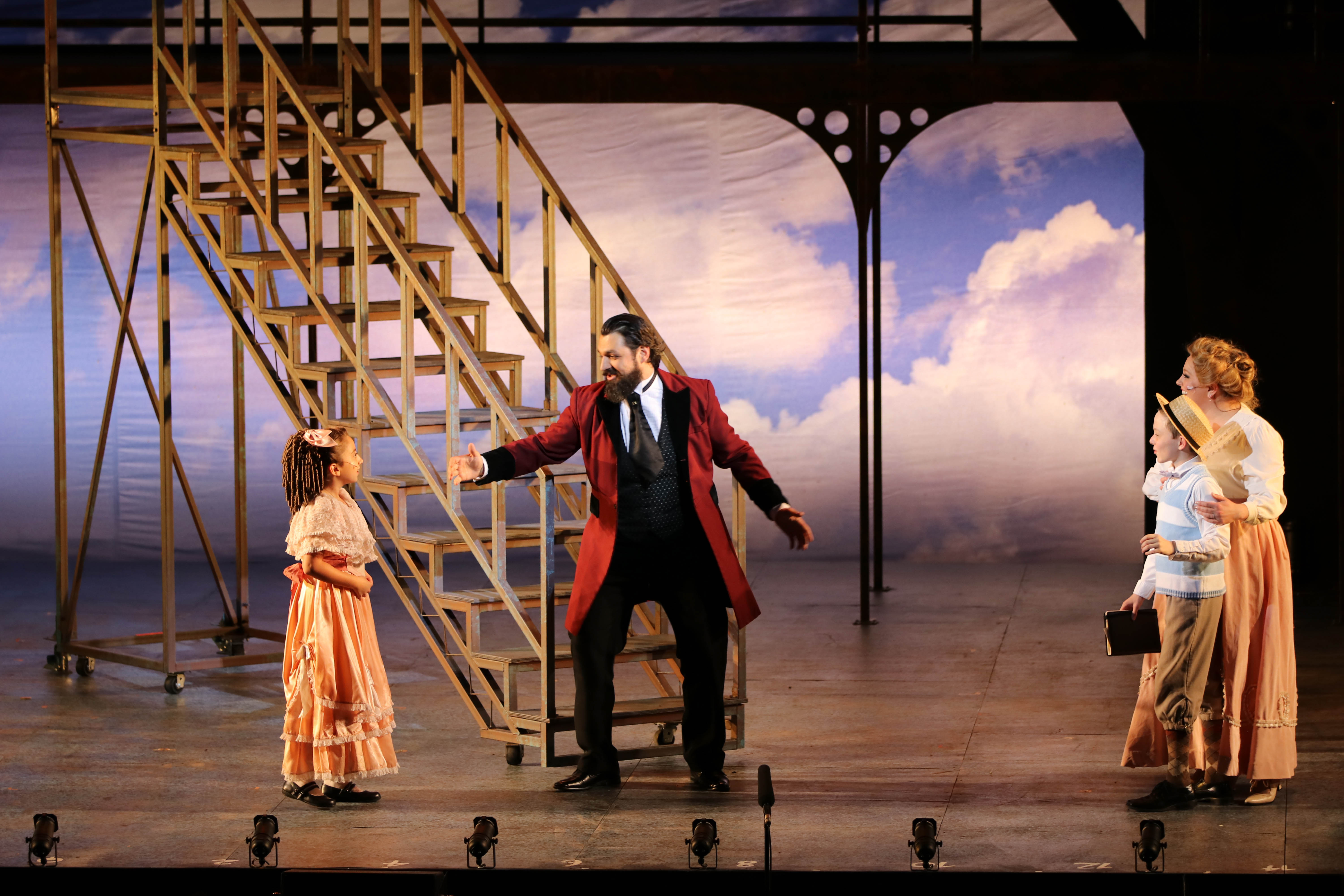 Park Playhouse Breaks Down How They Designed the Set for Their Outdoor Ragtime