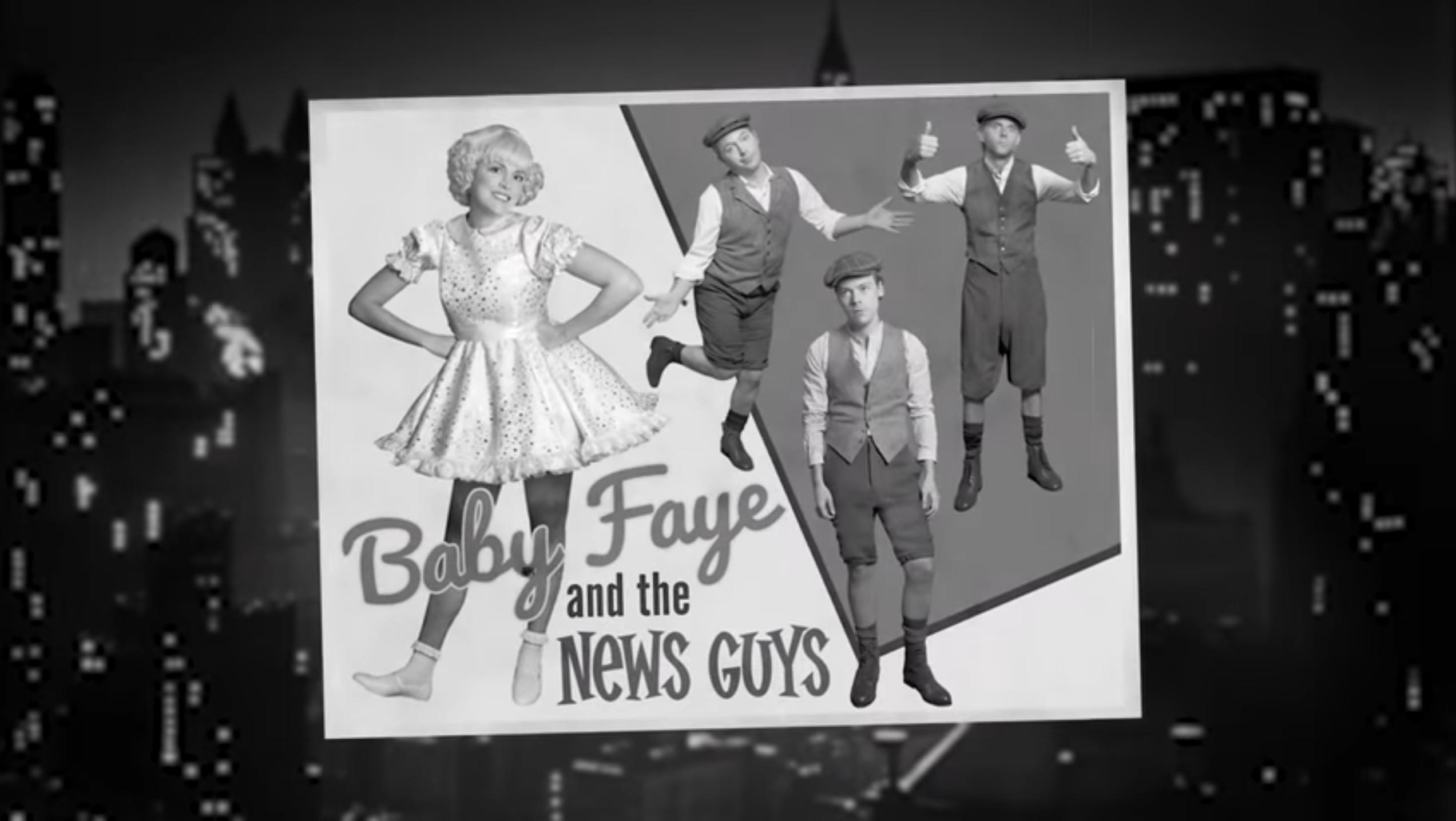 Saturday Night Live Parodies Gypsy With 'Baby Faye and Her Newsboys'