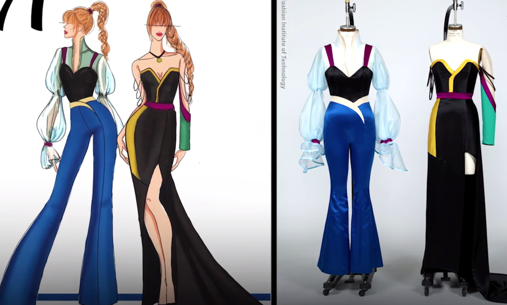 Watch Disney on Broadway Characters Get a Modern Makeover From Fashion Design Students