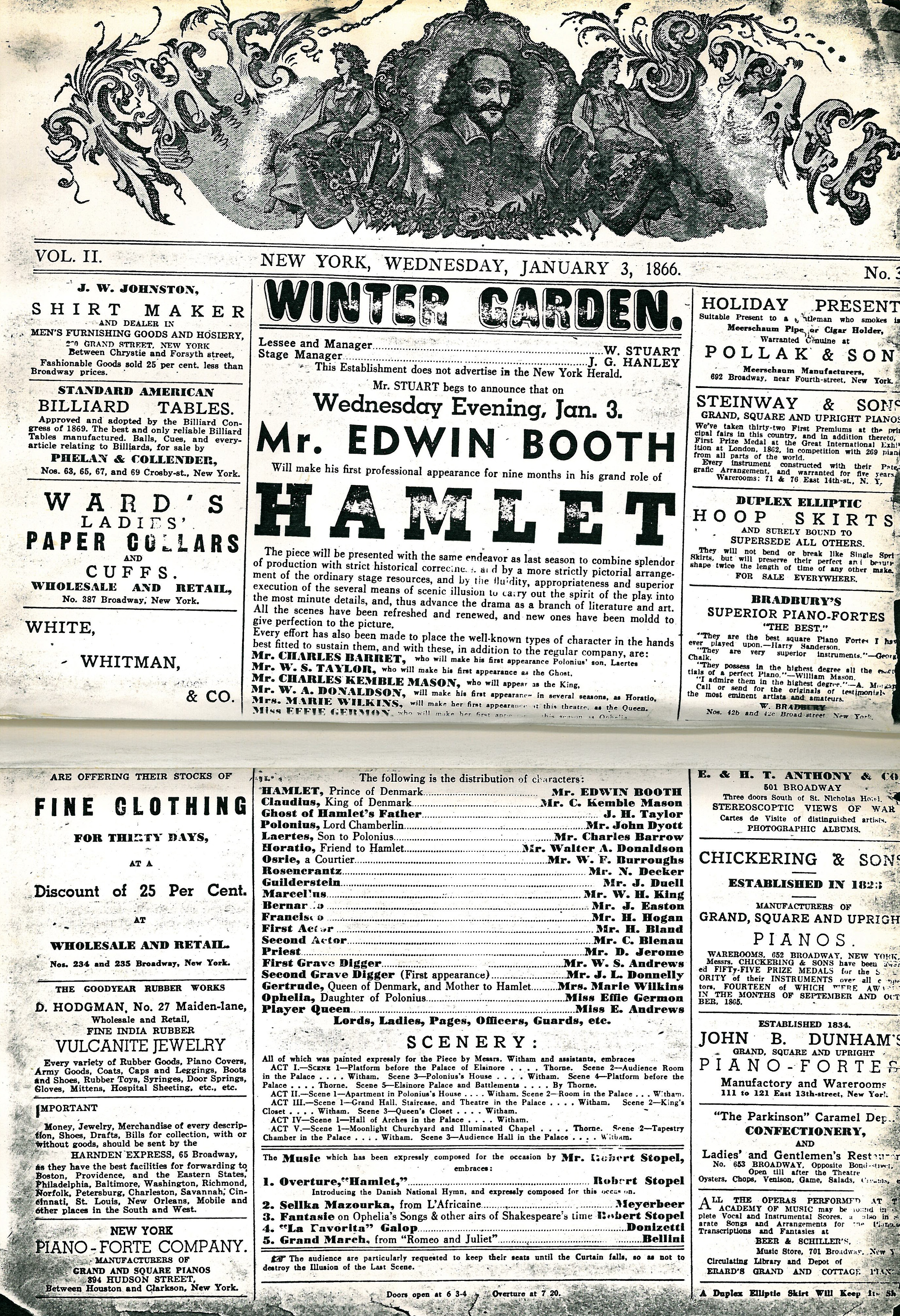 glimpse back through the history of playbill playbill u003d 0 of 25
