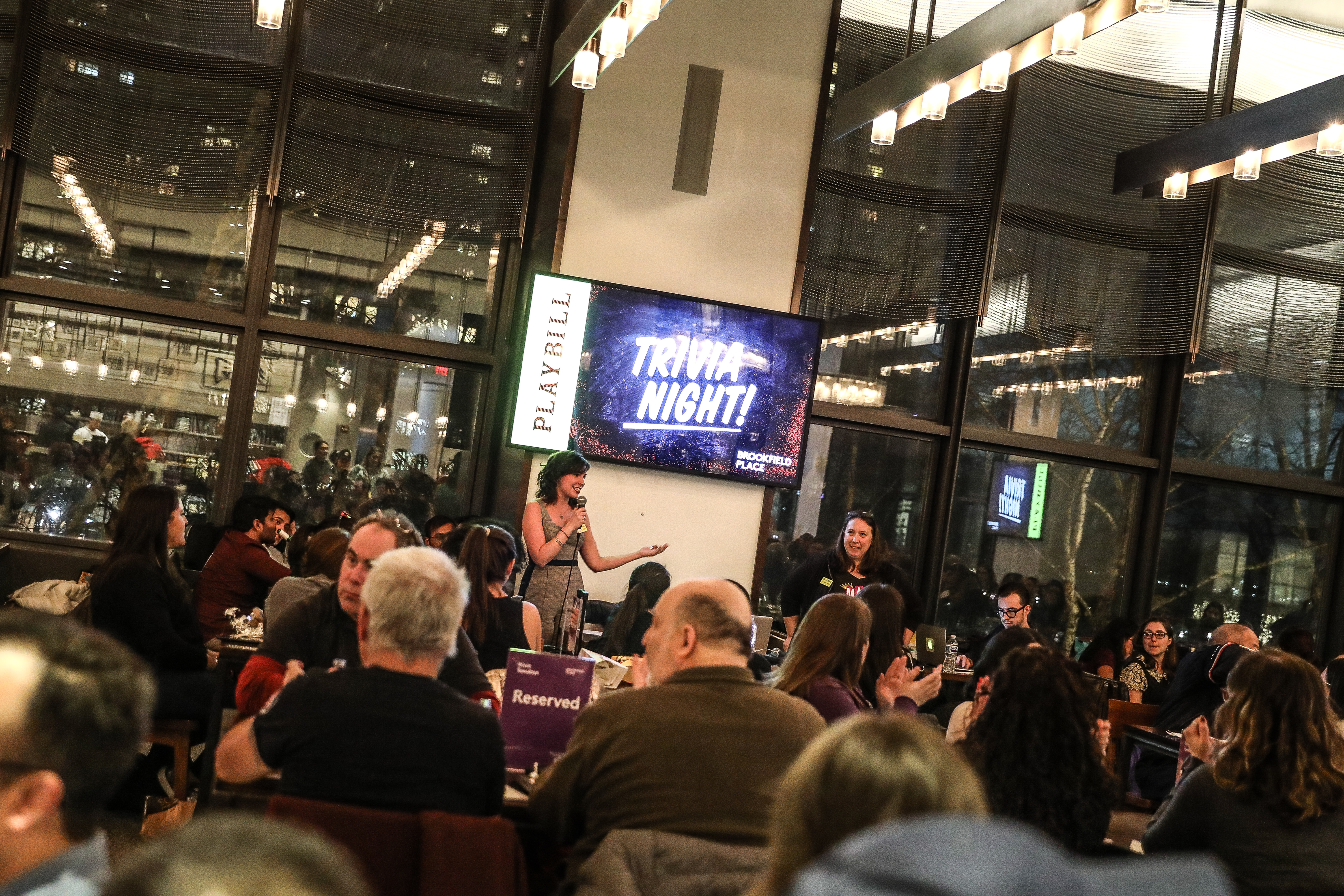 Go Inside Playbill's Broadway Trivia Night at Brookfield
