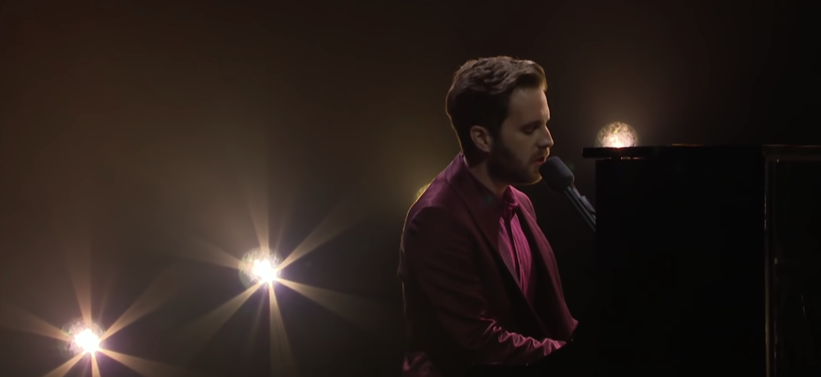 Watch Ben Platt Perform 'Run Away' on The Late Late Show With James Corden