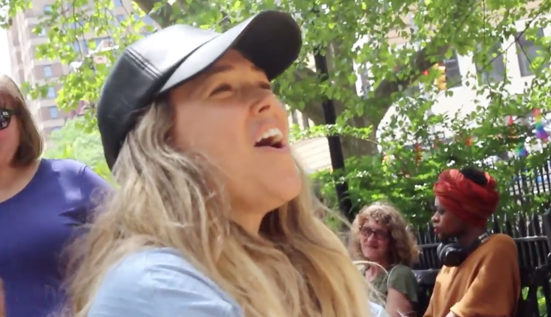 Watch Rachel Platten Perform Empowering Hit 'Fight Song' on Playbill's Sing for Hope Piano
