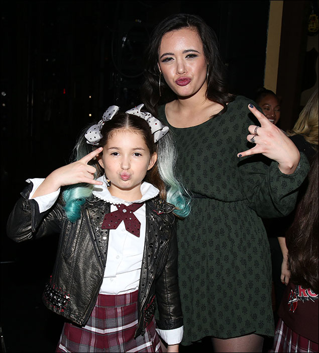 School Of Rock Film Stars Meet Their Broadway Counterparts At First