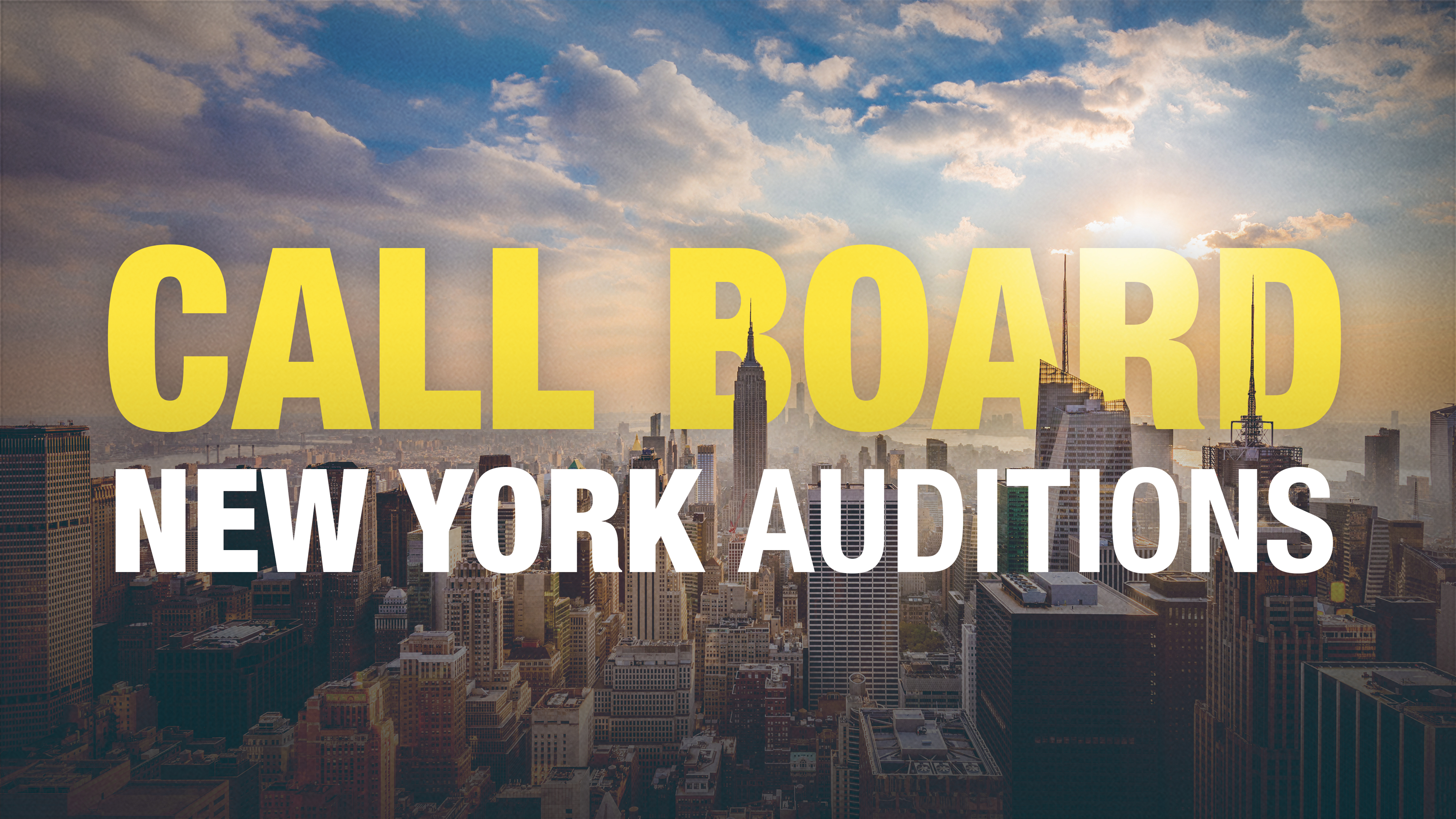 Upcoming NYC Auditions for My Fair Lady, Hello, Dolly!, Jagged