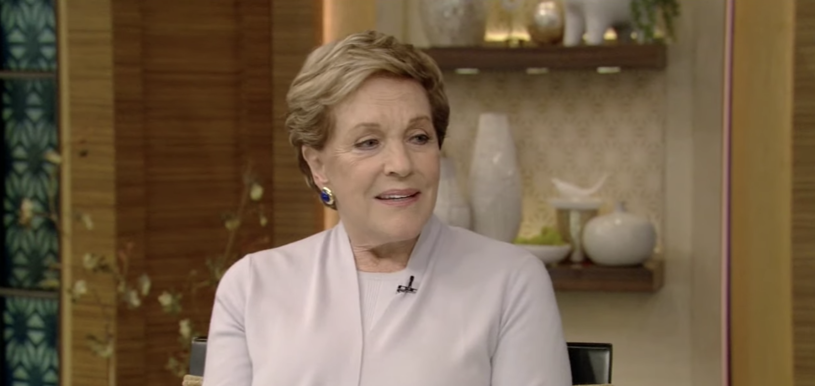 Julie Andrews Says She Came Crashing Down While Filming Mary Poppins