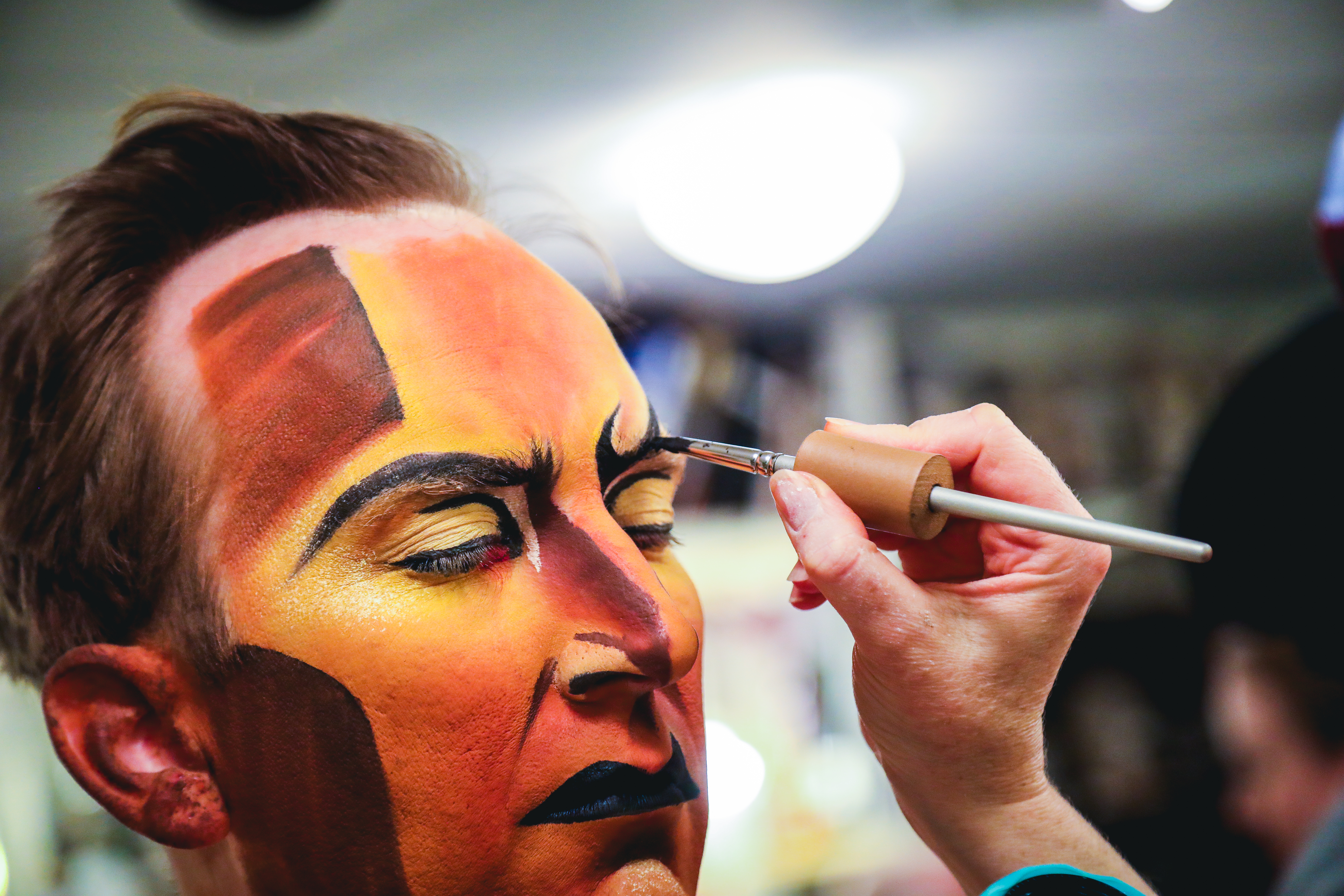 See Stephen Carlile's Makeup Transformation into The Lion King's Scar | Playbill = 0 of 23