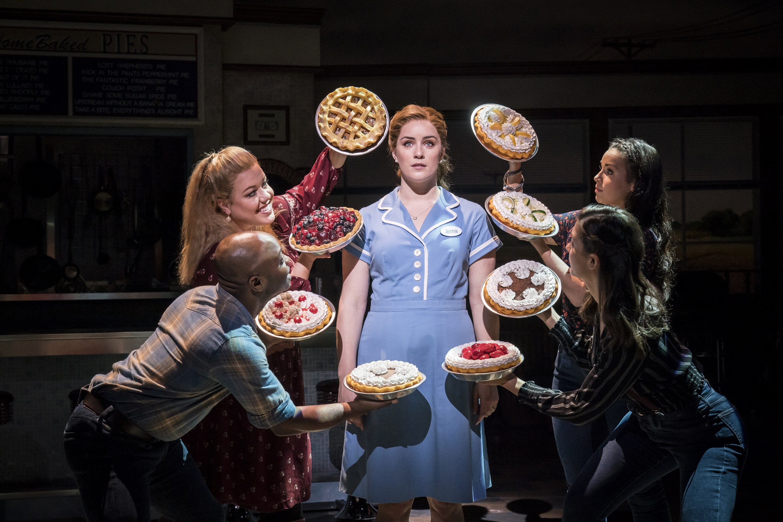 Check Out New Stars of London's Waitress