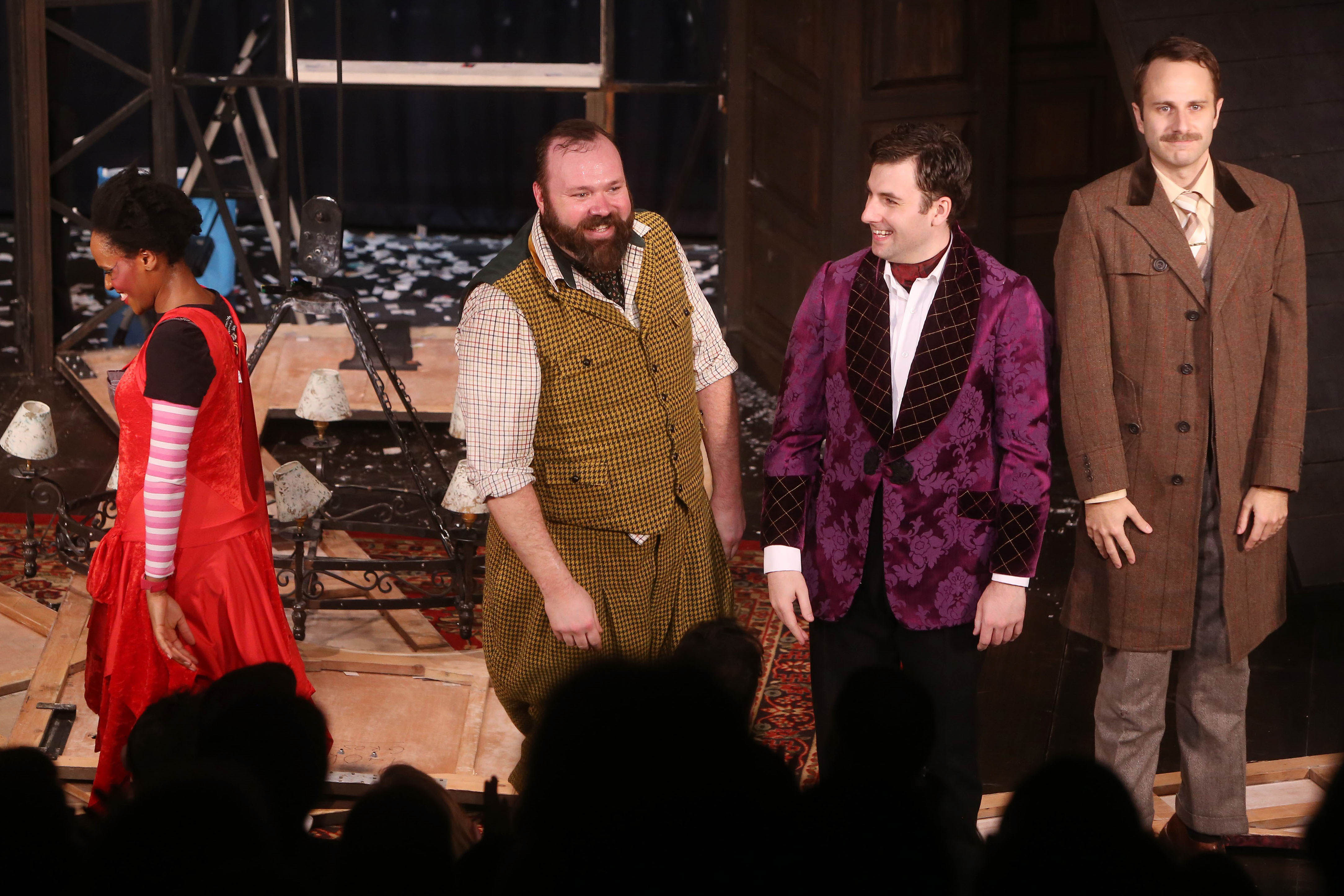 Photos: The Play That Goes Wrong Opens Off-Broadway