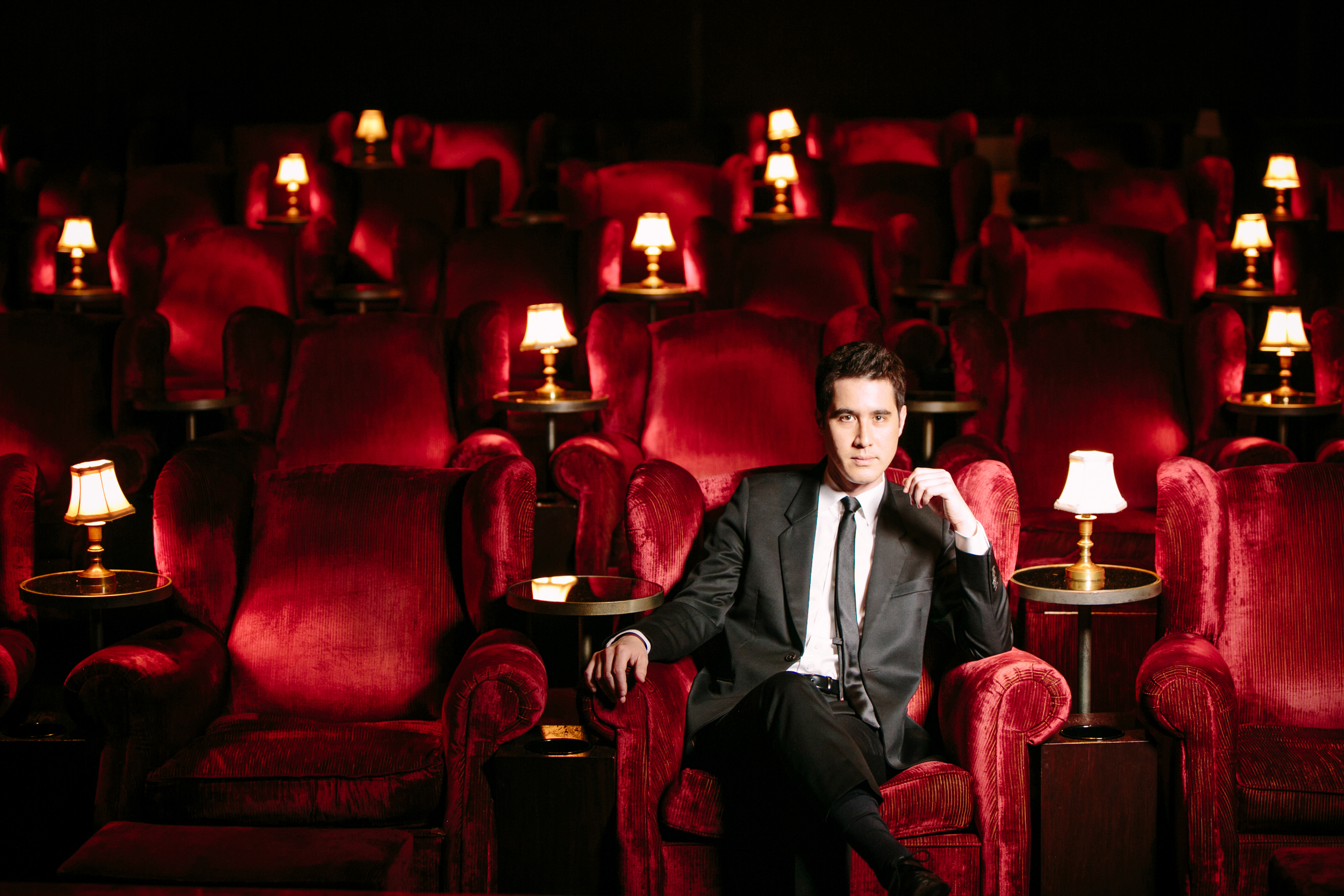 Andrew Kwong immersive show from magician david kwong, the enigmatist